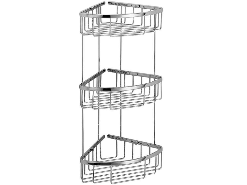 Polka Narozna Pod Prysznic Potrojna Lineabeta Filo Corner 3s 27x20x51cm Sklep Bbhome Corner Shower Corner Shower Caddy Shower Basket
