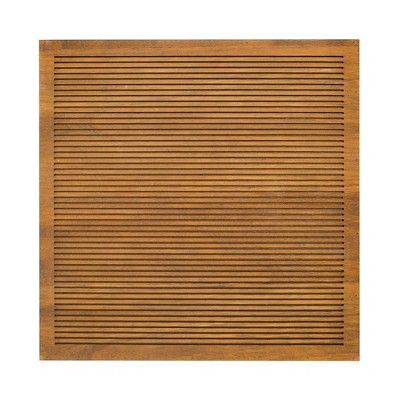 find product information ratings and reviews for 144x 144 wood letter board brown threshold online on targetcom