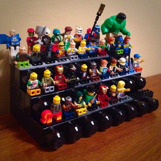 17 DIY Ideas for Lego Minifigure Storage