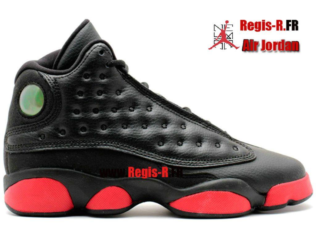 air jordan 13 retro noir rouge