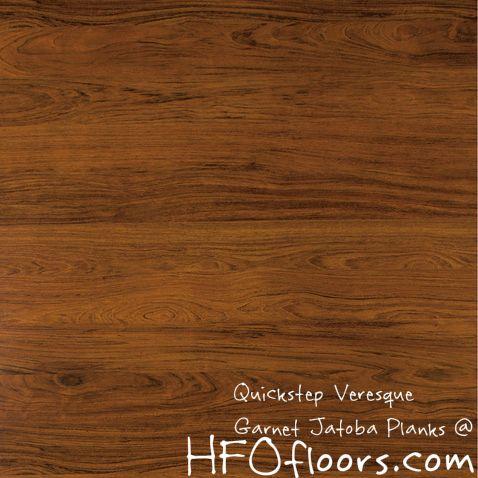 Quickstep Veresque Garnet Jatoba Laminate Plank Available At