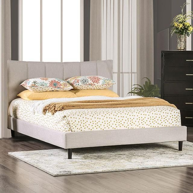 Bed ENNIS by Skyline - CM7678BG - Queen