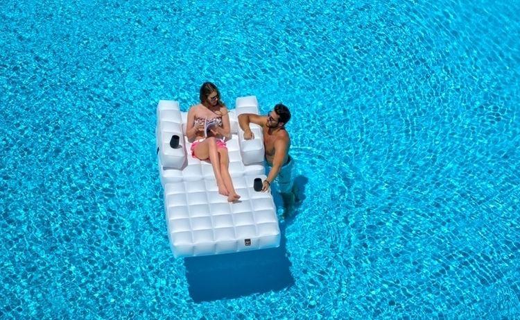 Aufblasbare Möbe -garten-otdoor-modern-luftmatratze-pool-module - garten pool aufblasbar