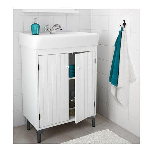 Silveran Hamnviken Sink Cabinet With 2 Doors White Sinks Doors