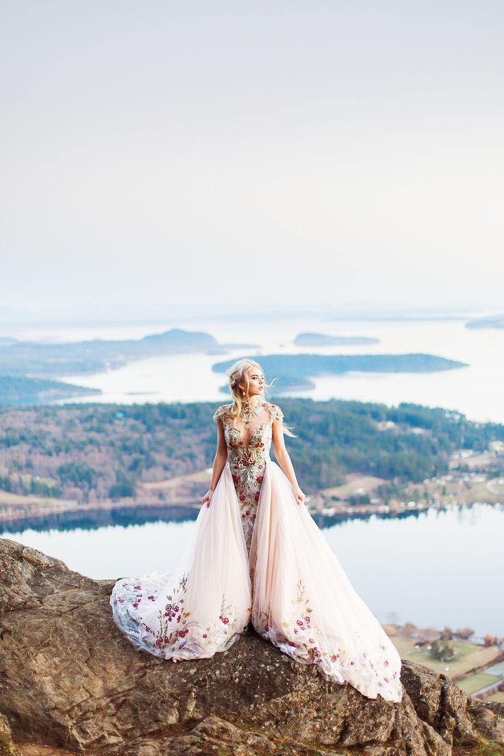Mountain Top Wedding Dresses