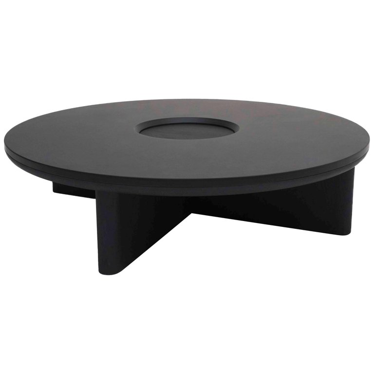 Best Focus Solid Black Oak And Welsh Slate Large Coffee Table 400 x 300