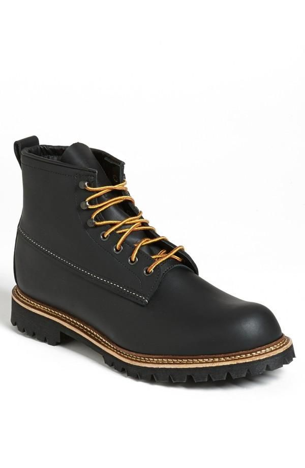 330cd2ba018 Red Wing Ice Cutter Round Toe Boot   Fetichismo   Boots, Shoe boots ...