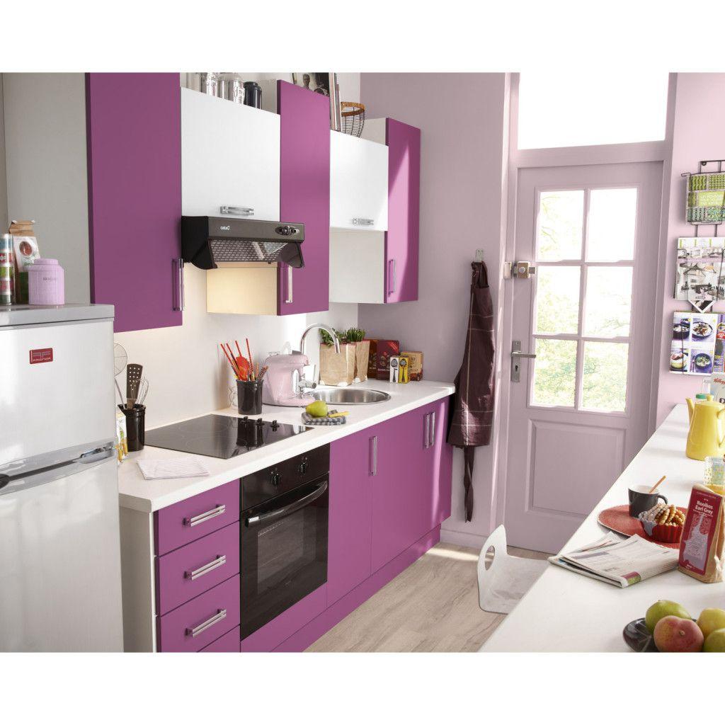 Decoraci n interior morado decoraci n en color violeta - Cocina color lila ...