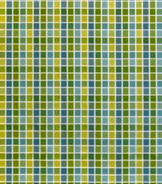 Upholstery Fabric-Covington Kaleidoscope 524 Mediterranean #12784369