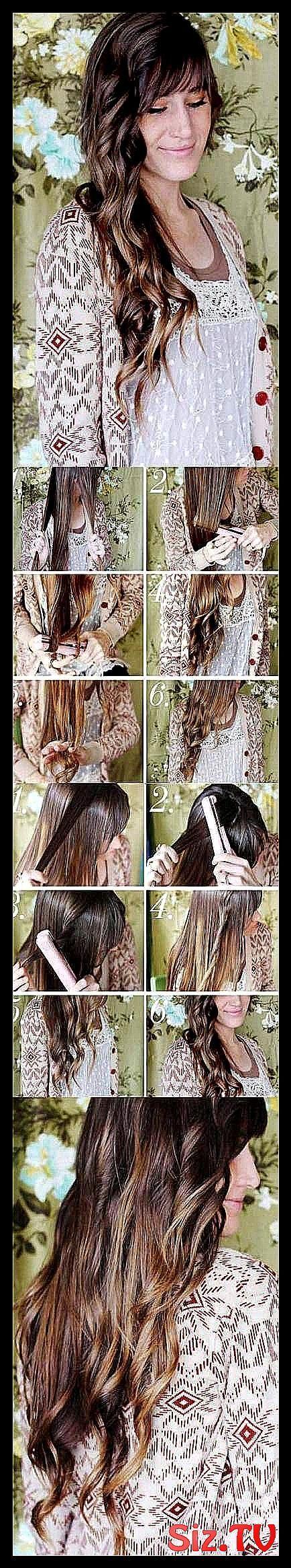 Trendy Frisuren für die Schule keine Hitze lockiges Haar 51 Ideen Trendy Frisuren für s …