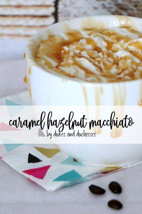 caramel hazelnut macchiato coffee recipe