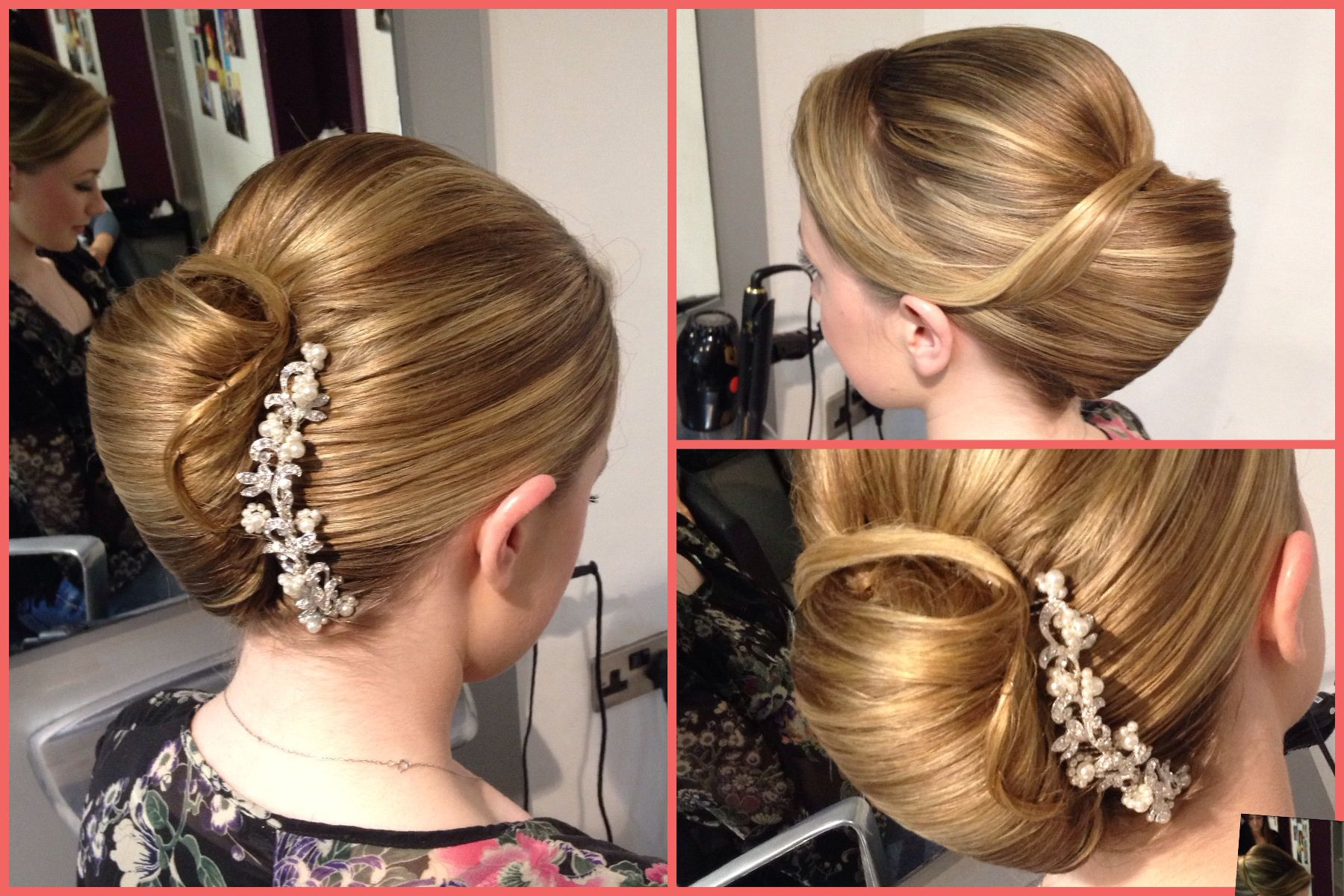French pleat or french roll simple and elegant updo mums hair