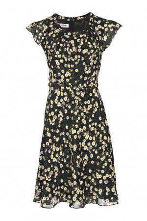 Daisy Print Dress - Dresses - Clothes - Shop - London-Boutiques.com