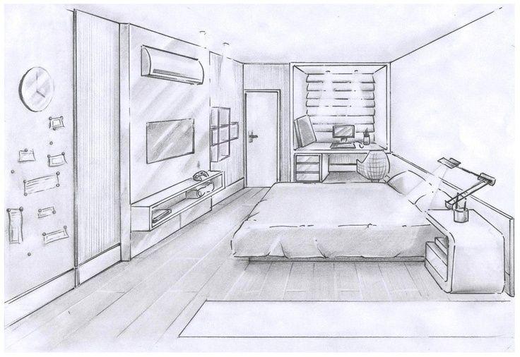 Pin De Nicolas Amaya En Art En 2021 Bocetos De Diseno De Interiores Dibujo De Arquitectura Boceto Interior