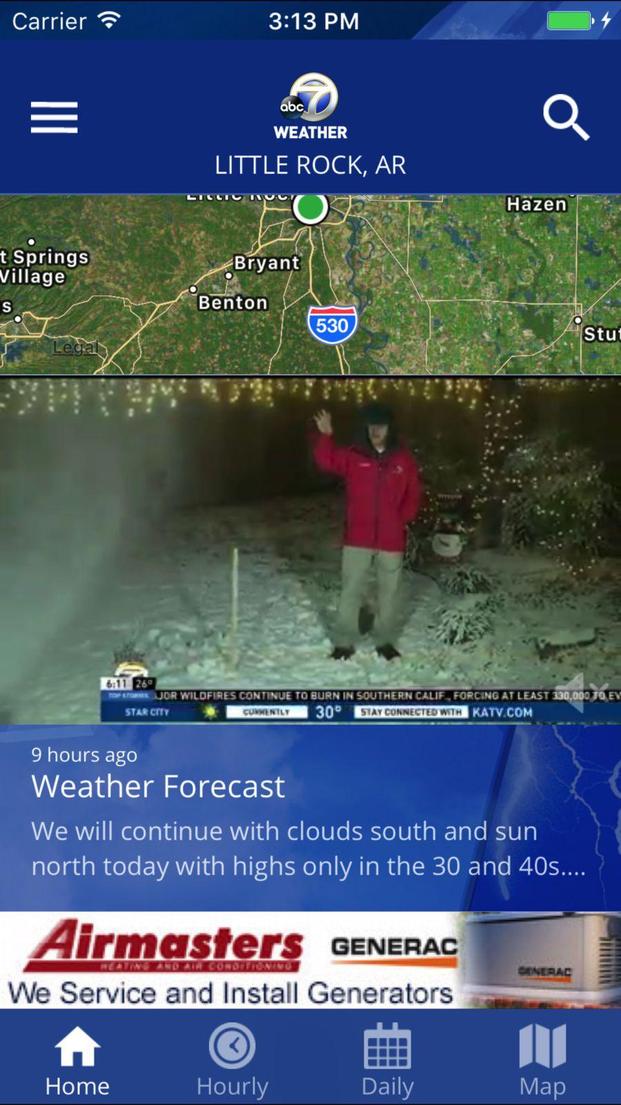 KATV Channel 7 Weather #News#TV#apps#ios | game design rpg