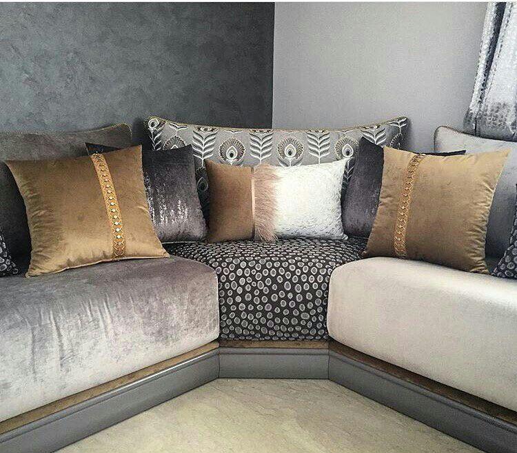 Coussins | Salon marocain design, Salon marocain et Salon ...