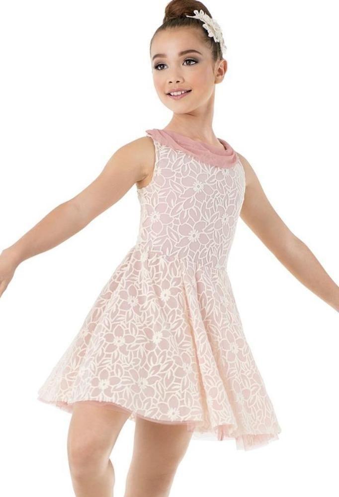 ba978bda7 Dance Costume Medium Child Pink Lyrical Ballet Solo Competition ...