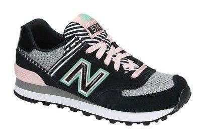 New Balance WL574 zwarte lage sneakers | new balance wl 574 zwarte ...
