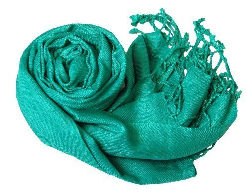 Soft and Silky Peach Couture Teal Rayon Pashmina Shawl/Wrap Peach Couture. $9.95
