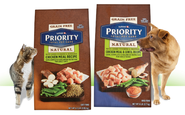 SAFEWAY Coupon for FREE Priority Dog or Cat Food