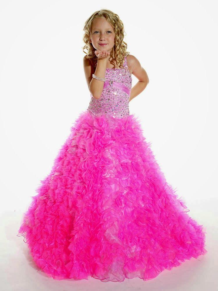 Lindos Vestidos de fiesta para niña | Moda y Tendencias | Ropa ...