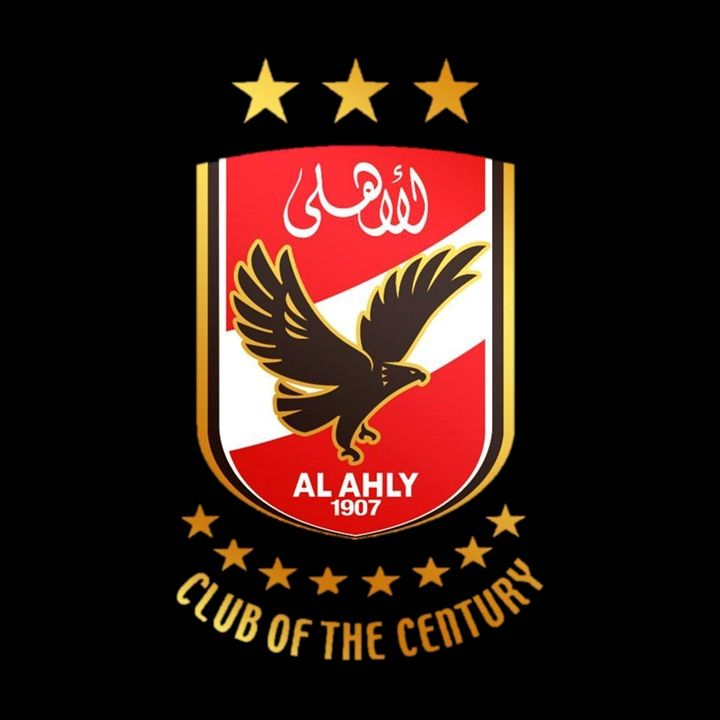 Al Ahly African Club Of The 20th Century The Most Titled Club In The World Football Design Egypt Wallpaper Club Badge