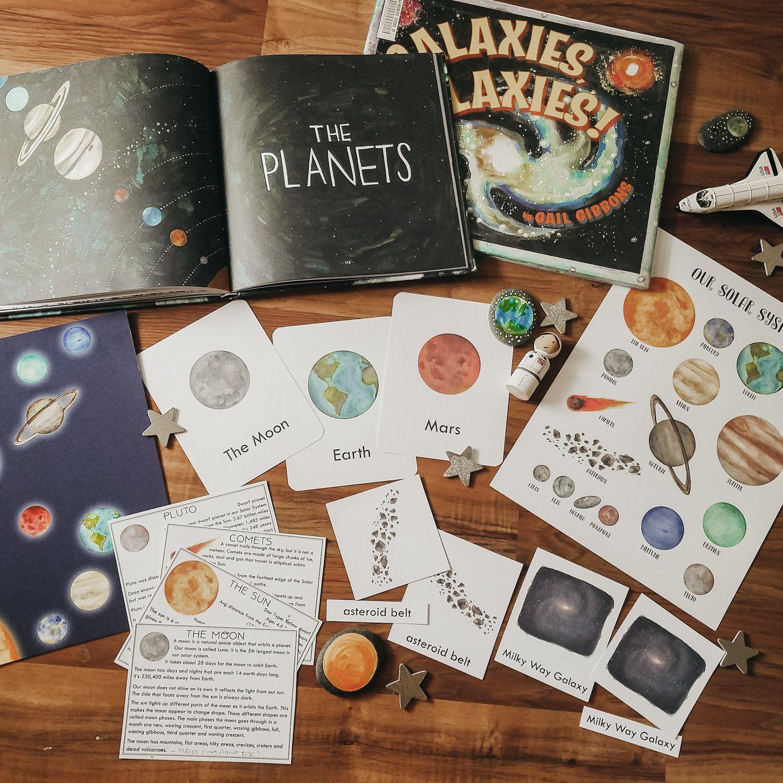 Solar System Unit Study Bundle