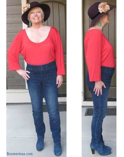 8cf6b45980067 why you should never tuck in your top when you re apple shaped