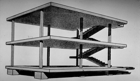 5 Points Of Modern Architecture Le Corbusier Le Corbusier