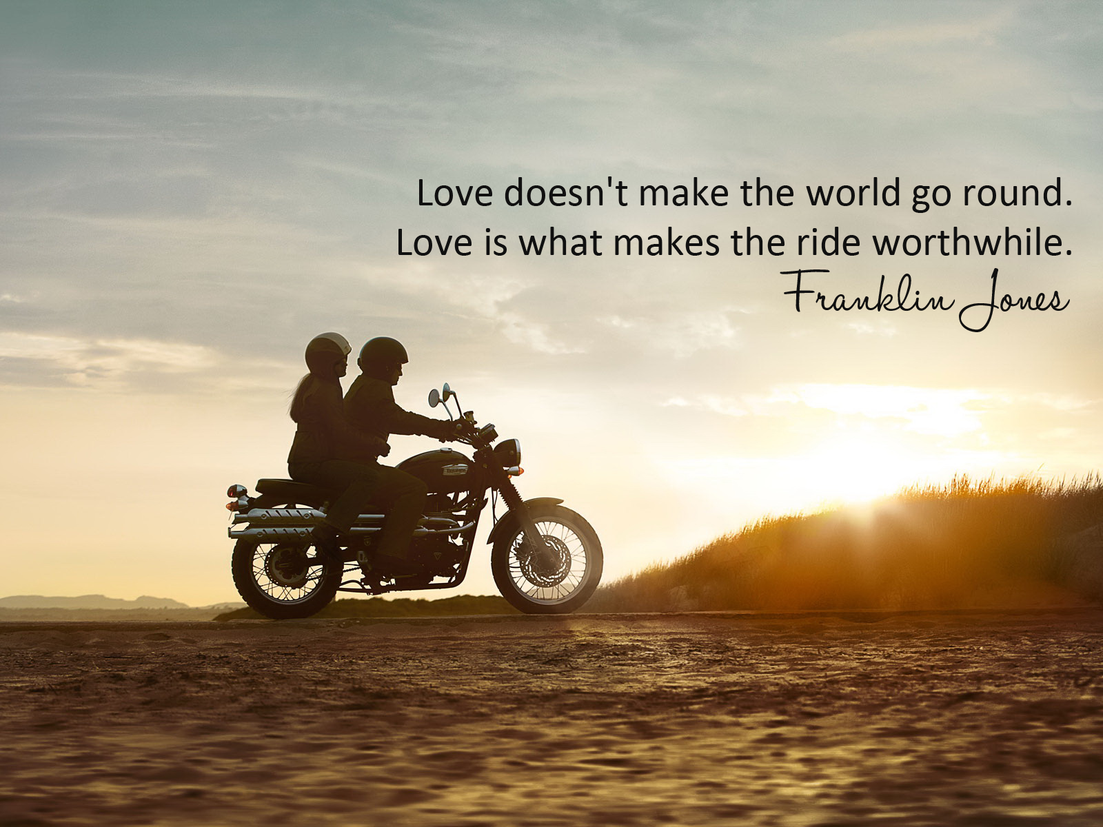 dailyquotes Love doesn t make the world go round Love is what makes