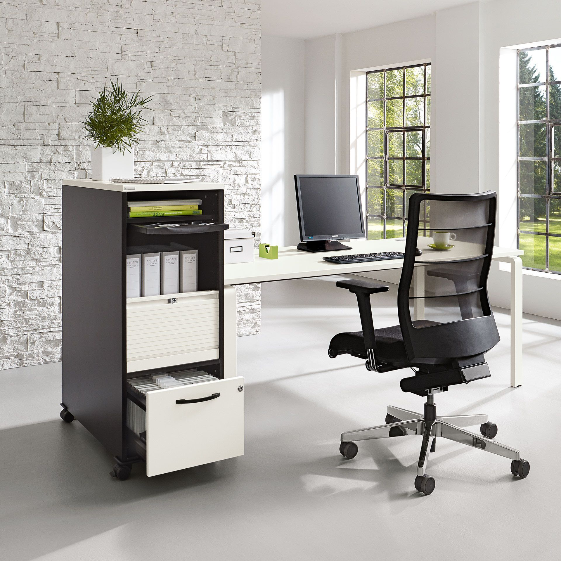 Schreibtisch Buroeinrichtung Office Objekteinrichtung Buro Palmberg Orga Plus Caddy Buroeinrichtung Buero Einrichtung