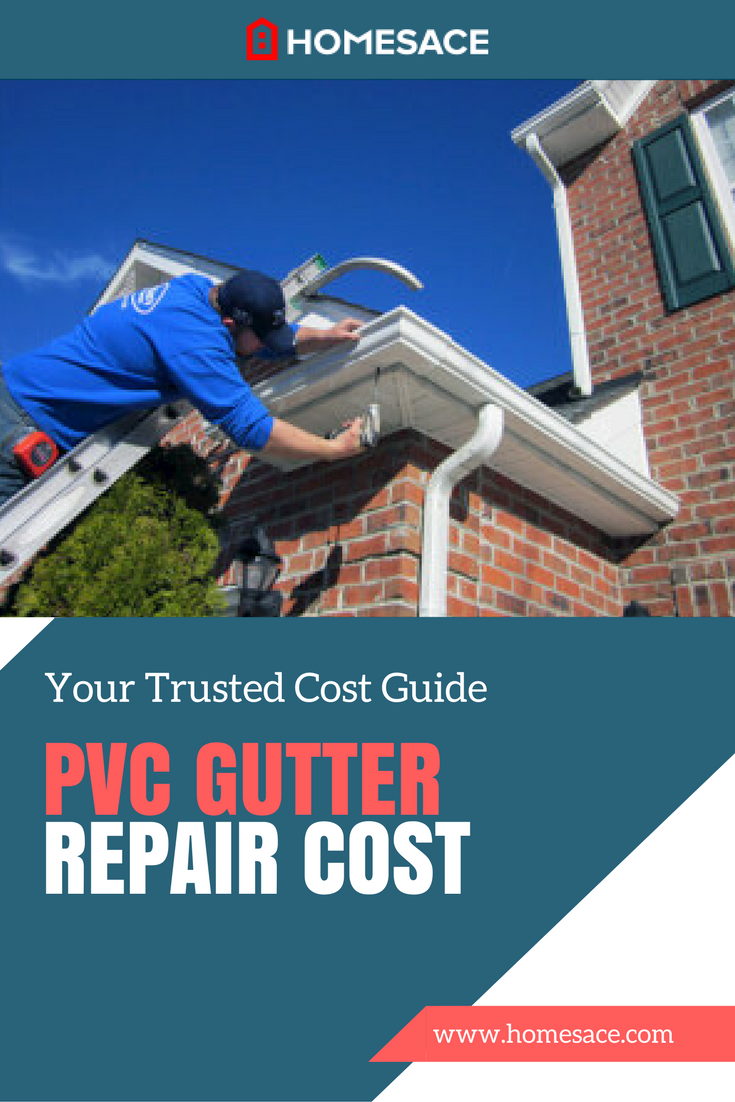 You Probably Love How Low Maintenance Your Pvc Gutters Are Despite Their Strength And Durability They Will Occasionally Req Pvc Gutters Gutter Repair Gutters