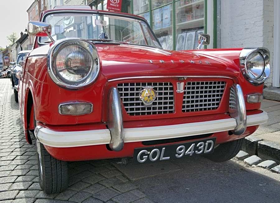 Anyone know what this car is 1 triumph cars dream