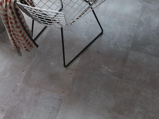 Les Sols En Vinyle Effet Beton Ont La Cote Elle Decoration Sol Vinyle Revetement De Sol En Vinyle Vinyle