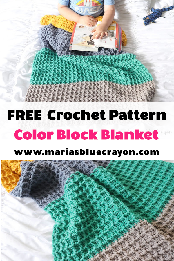 Crochet Patterns CRAYONS Color Graph BABY Afghan Pattern **EASY