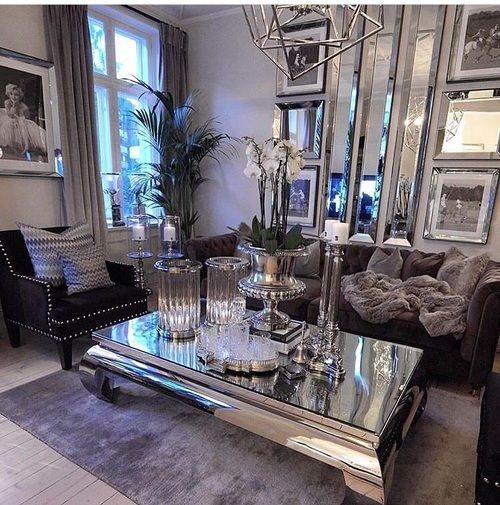 Uploaded By Updated Find Images And Videos About Style On We Heart It The App To Get Lost In What Glam Living Room Luxury Living Room Living Room Decor Cozy