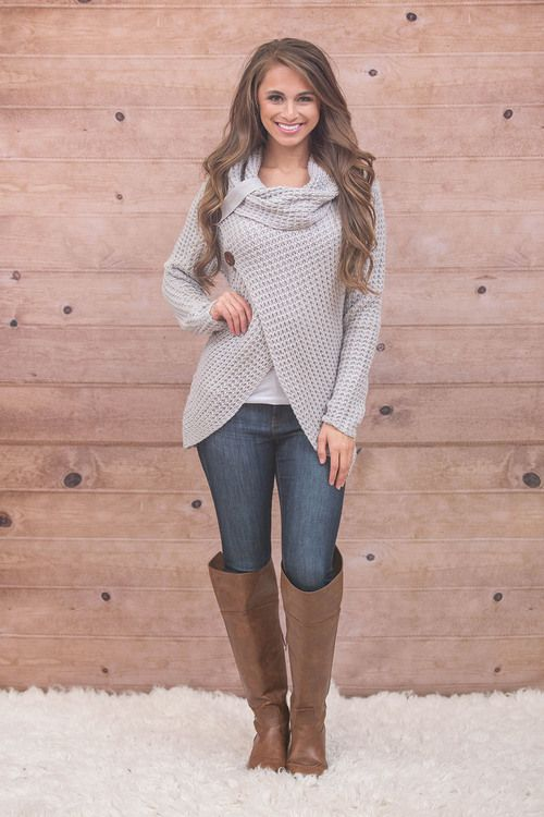 This cozy sweater is perfect for staying warm and stylish this ...