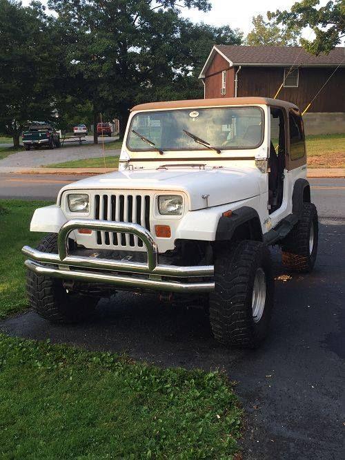 5550722448 Oncedriven 1992 Jeep Wrangler Columbiana Oh Jeep Yj Jeep Wrangler Jeep