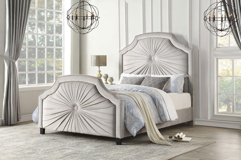 Bossa Nova Upholstered Bed Upholstered beds, Bed, Full