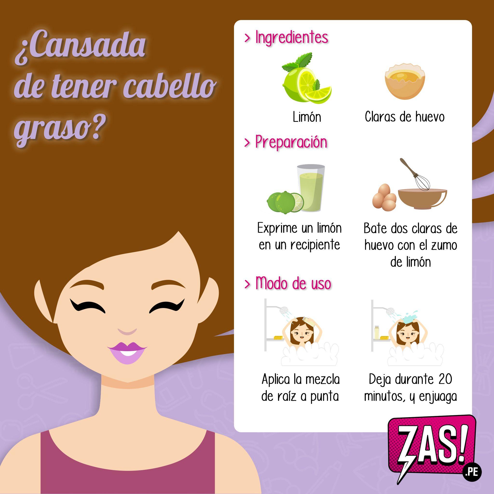Existen Remedios Caseros Que Pueden Ayudar A Eliminar La Oleosidad Del Cabello Algunas De Estas Recetas Incluyen Productos Nat Lip Hair Body Care Cabello Hair