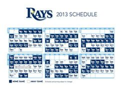 graphic about Rays Printable Schedule known as Tampa Bay Rays 2013 Routine Tampa Bay Rays Baseball