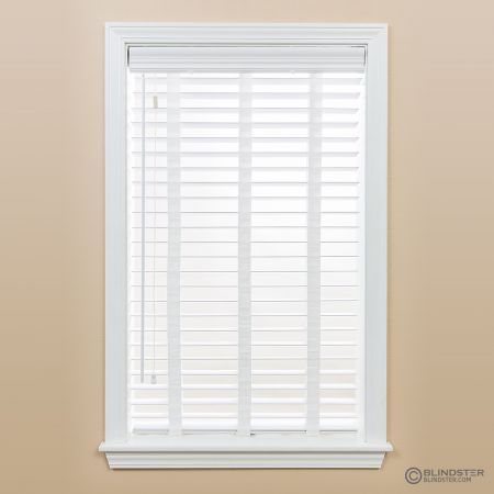 2 Inches Premium Faux Wood Blinds Wood Blinds Bedroom Faux Wood
