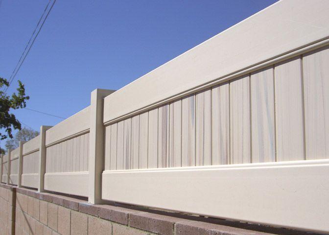 Southland Vinyl Block Wall Extension Vinyl Wall Extension