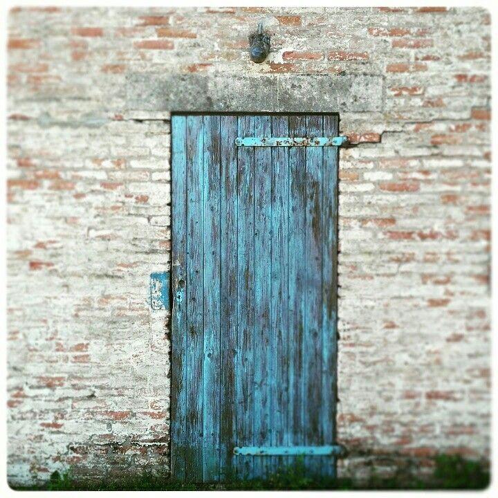 Blue door blauwe deur