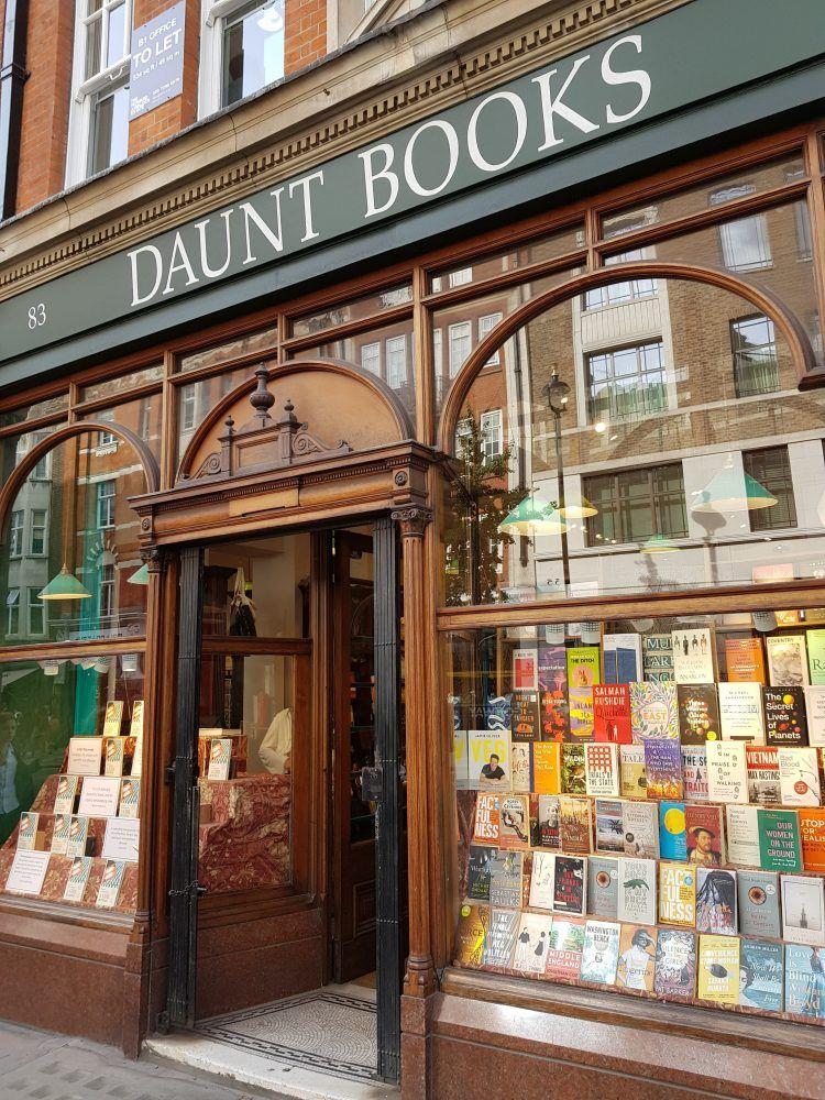 daunt-books - best independent bookshops in london