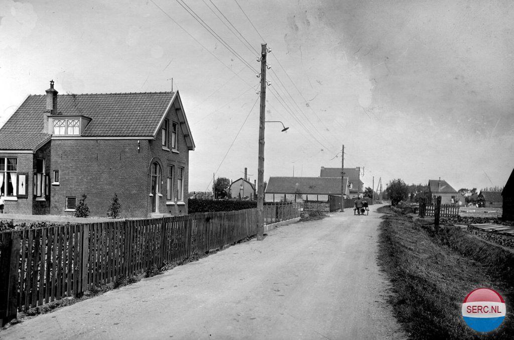 Dijkshoornseweg Den Hoorn (jaartal: 1920 tot 1930) - Foto's SERC