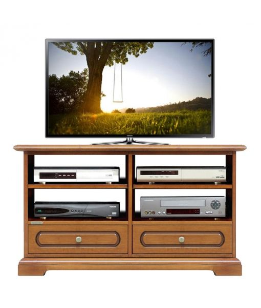 Arteferretto Porta Tv.Classic Tv Stand With Shelves Product Code 3800 C Made In