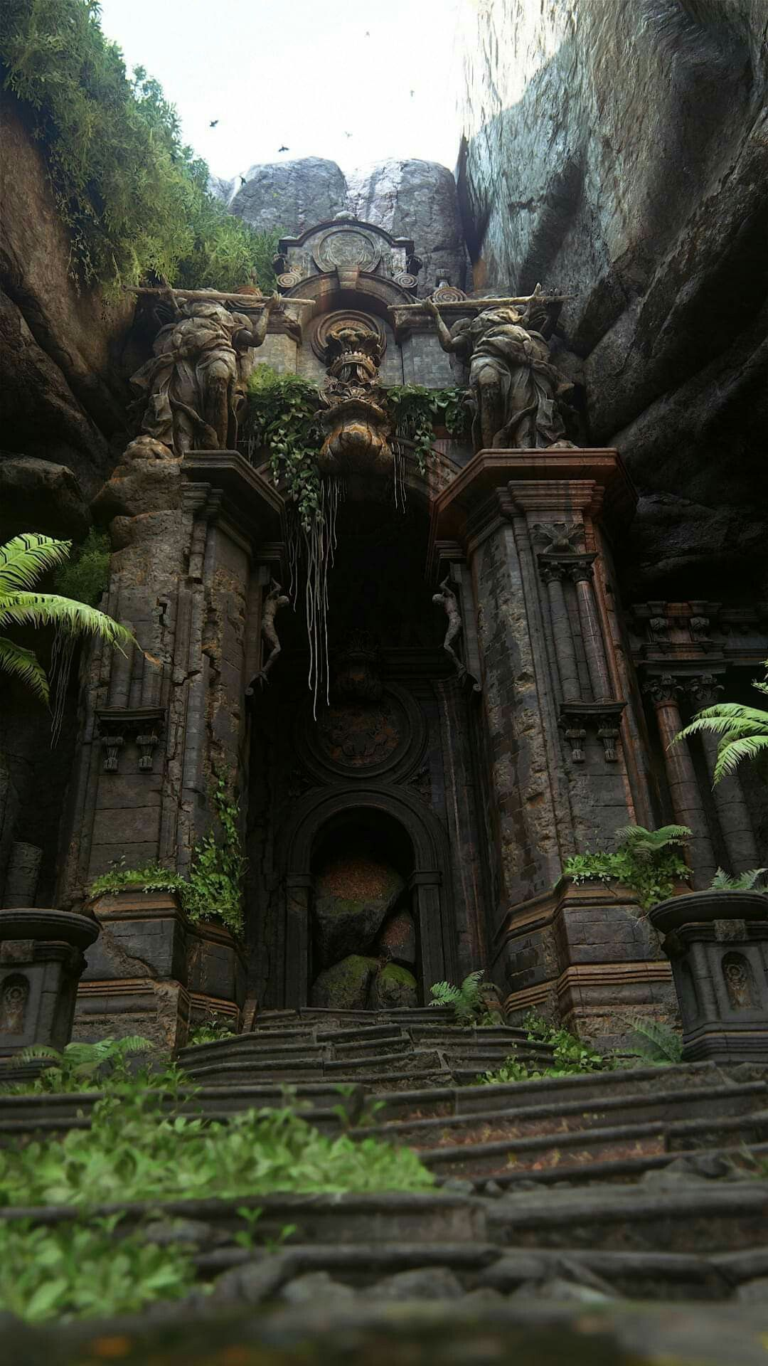 What is this, Tomb Raider or something? If it were, I'd start climbing from the right ;) #photoscenery