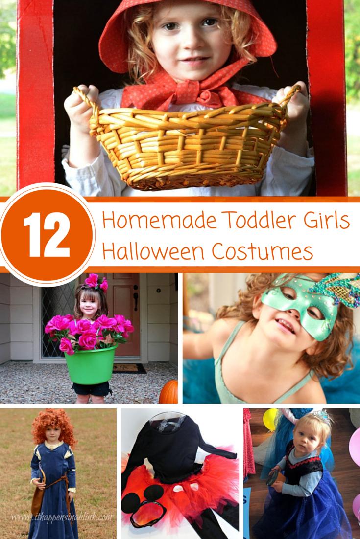 12 Darling Homemade Toddler Girls Halloween Costumes - so cute!! # halloweencostumes #handmadecostumes  sc 1 st  Pinterest & Darling Homemade Toddler Girls Halloween Costumes | Handmade ...
