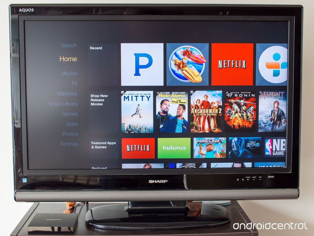 Amazon Fire TV Digital HD 1080P Media Streamer - FIRETV